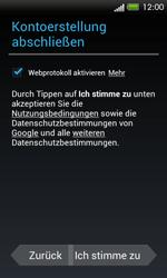HTC One SV - Apps - Einrichten des App Stores - Schritt 12