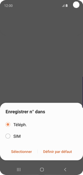 Samsung Galaxy S10e - Contact, Appels, SMS/MMS - Ajouter un contact - Étape 6