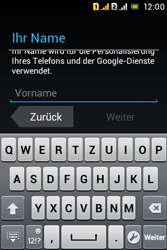 Sony Xperia Tipo Dual - Apps - Konto anlegen und einrichten - 5 / 29