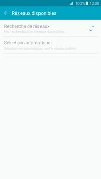 Samsung Galaxy S6 edge+ (G928F) - Réseau - Sélection manuelle du réseau - Étape 7