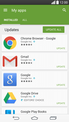 LG G3 - Applications - How to check for app-updates - Step 6