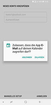 Samsung Galaxy A8 Plus (2018) - E-Mail - Konto einrichten (outlook) - 11 / 14