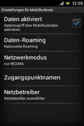 Sony Xperia E - Internet - Manuelle Konfiguration - Schritt 6