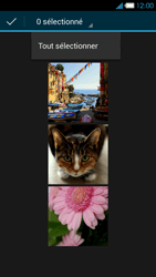 Bouygues Telecom Ultym 4 - Photos, vidéos, musique - Envoyer une photo via Bluetooth - Étape 8