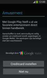 Samsung Galaxy S3 Mini Lite - apps - account instellen - stap 22