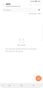 Samsung Galaxy S9 Plus - E-mail - 032b. Email wizard - Yahoo - Step 5