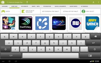 Sony Xperia Tablet Z LTE - Applicazioni - Installazione delle applicazioni - Fase 5