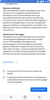 Nokia 5.1 - Applicaties - Account instellen - Stap 16