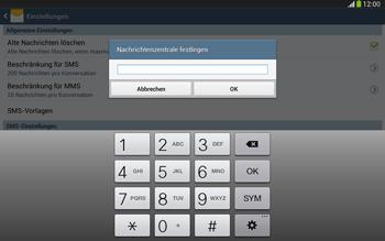 Samsung Galaxy Tab 3 10-1 LTE - SMS - Manuelle Konfiguration - 7 / 9