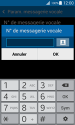 Samsung G357 Galaxy Ace 4 - Messagerie vocale - Configuration manuelle - Étape 7