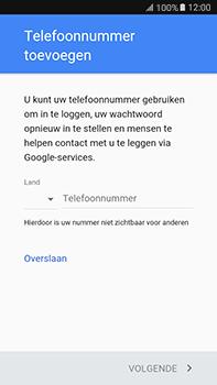 Samsung Galaxy J7 (2016) (J710) - apps - account instellen - stap 15
