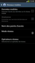 Samsung Galaxy S 4 Active - Internet et roaming de données - Comment vérifier que la connexion des données est activée - Étape 6