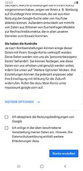 Samsung Galaxy S9 Plus - Apps - Konto anlegen und einrichten - 15 / 22
