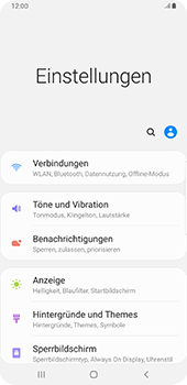 Samsung Galaxy S9 Plus - Android Pie - Internet und Datenroaming - Deaktivieren von Datenroaming - Schritt 4