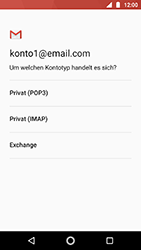 Motorola Moto G5s - E-Mail - Konto einrichten - 0 / 0