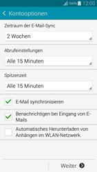 Samsung Galaxy Alpha - E-Mail - Konto einrichten - 17 / 21