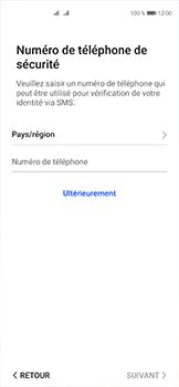 Huawei P40 - Applications - Créer un compte - Étape 17