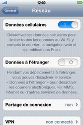 Apple iPhone 4 S - Internet - Désactiver du roaming de données - Étape 5