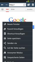 Samsung Galaxy S 4 Active - Internet und Datenroaming - Verwenden des Internets - Schritt 7