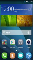 Huawei Y3 - Internet - aan- of uitzetten - Stap 1