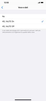 Apple iPhone 11 - Rete - Come attivare la connessione di rete 4G - Fase 7