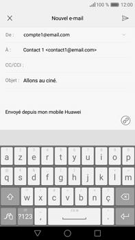 Huawei P9 Plus - E-mail - envoyer un e-mail - Étape 8