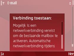 Nokia E63 - E-mail - Handmatig instellen - Stap 9