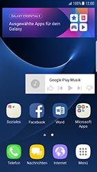 Samsung Galaxy S7 Edge - Android N - Startanleitung - Installieren von Widgets und Apps auf der Startseite - Schritt 9