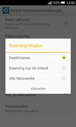Alcatel Pop S3 - Ausland - Im Ausland surfen – Datenroaming - 9 / 13
