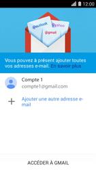 Huawei Ascend Y550 - E-mail - Configuration manuelle (gmail) - Étape 14