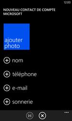 Nokia Lumia 1020 - Contact, Appels, SMS/MMS - Ajouter un contact - Étape 5