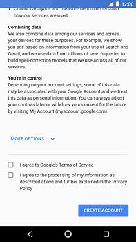 Nokia 6 (2018) - Applications - Create an account - Step 15