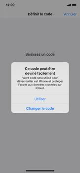 Apple iPhone 11 Pro - Sécurité - activéz le code PIN de l'appareil - Étape 6