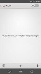 Sony Xperia E4G - WLAN - Manuelle Konfiguration - 5 / 9