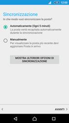 Sony Xperia Z5 - E-mail - configurazione manuale - Fase 19