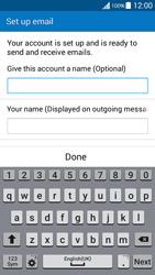 Samsung G530FZ Galaxy Grand Prime - E-mail - Manual configuration - Step 19