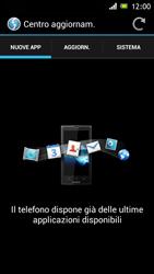 Sony Xperia J - Software - Installazione degli aggiornamenti software - Fase 7