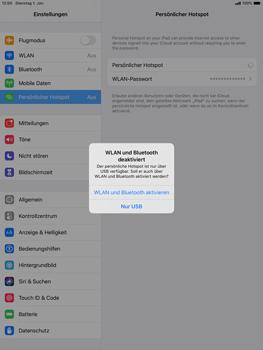 Apple ipad-10-2-7th-gen - WiFi - So aktivieren Sie einen WLAN-Hotspot - Schritt 7
