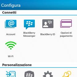 BlackBerry Q10 - E-mail - Configurazione manuale - Fase 4