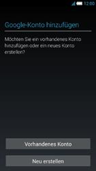Alcatel Idol S - Apps - Konto anlegen und einrichten - 4 / 25