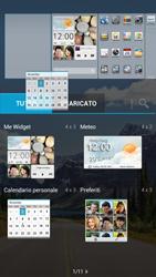 Huawei Ascend G526 - Operazioni iniziali - Installazione di widget e applicazioni nella schermata iniziale - Fase 6
