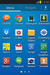 Samsung Galaxy Fame Lite - E-Mail - Manuelle Konfiguration - Schritt 3