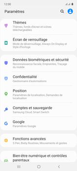 Samsung Galaxy Note 10 Lite - Sécuriser votre mobile - Personnaliser le code PIN de votre carte SIM - Étape 4