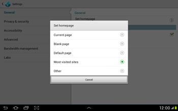 Samsung Galaxy Tab 2 10.1 - Internet and data roaming - Manual configuration - Step 22