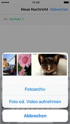 Apple iPhone 5S mit iOS 9 - MMS - Erstellen und senden - Schritt 11