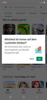 Samsung Galaxy Note 10 - Apps - Installieren von Apps - Schritt 6