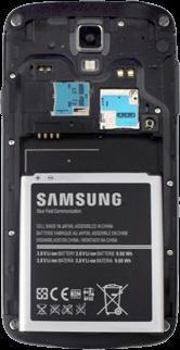 Samsung I9295 Galaxy S4 Active - SIM-Karte - Einlegen - Schritt 4