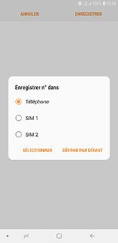 Samsung Galaxy J6 Plus - Contact, Appels, SMS/MMS - Ajouter un contact - Étape 7