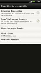 HTC One S - Internet et roaming de données - Désactivation du roaming de données - Étape 7