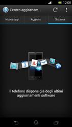 Sony Xperia T - Software - Installazione degli aggiornamenti software - Fase 8